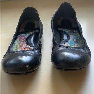 Born Juliann Black Ballet Flats